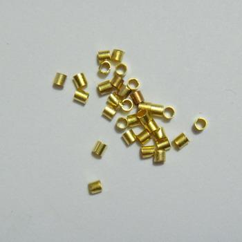 Crimpuri aurii tubulare 100 buc