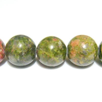 Unakite,sfere 10 mm 1 buc