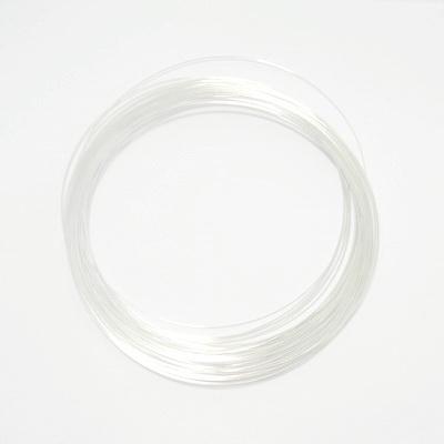 Sarma memorie colier argintie, diametru 14 cm 10 buc