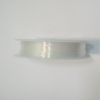 Fir elastic transparent 0.8mm 1 rola 9.5 m