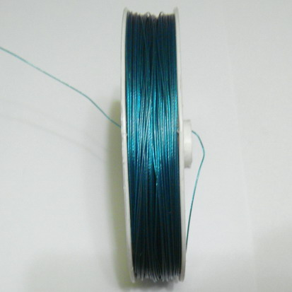 Sarma siliconata, verde-turcoaz 0.38 mm 5 m