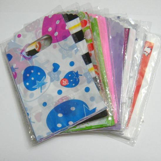 Pungi plastic, 14x9 cm, culori diverse cca 50 buc
