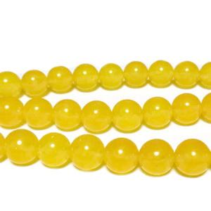 Agata galben-portocalie, 8mm 1 buc