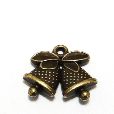 Pandantiv bronz, clopotel 24x15mm 1 buc