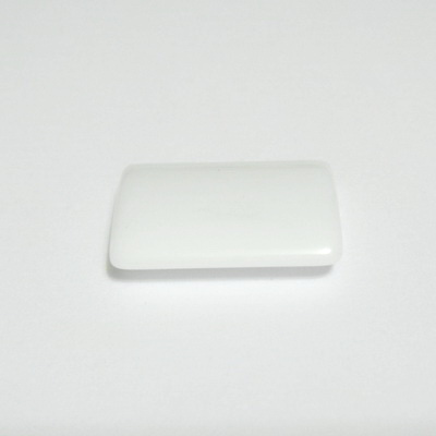 Agata alba, 20x16x5mm 1 buc