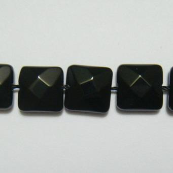 Onix multifete, patrat, 10x10x5mm 1 buc