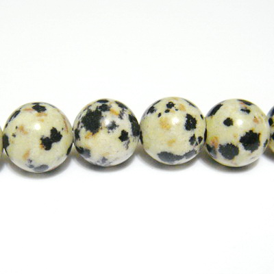 Jasp dalmatian 6.5mm 1 buc