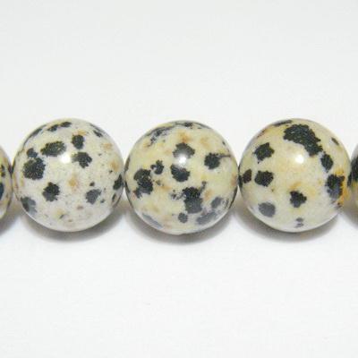 Jasp dalmatian 12mm 1 buc