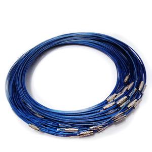 Baza colier albastra, cu inchizatoare 1 buc
