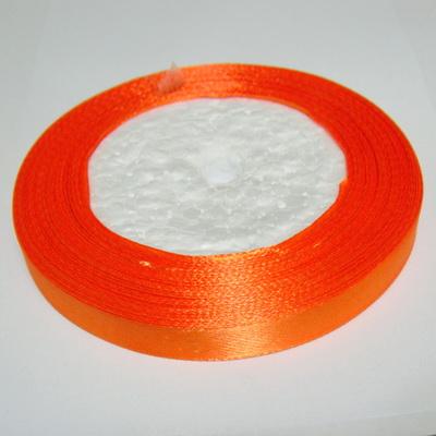 Saten portocaliu, 10mm 1 rola 22 m