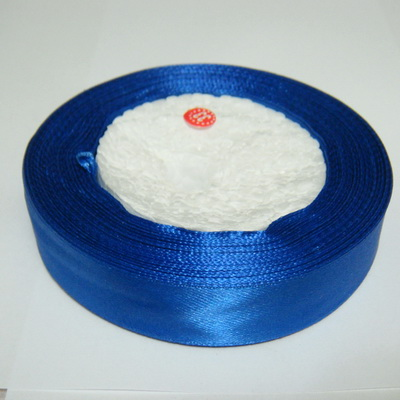 Saten albastru-cobalt, 20 mm 1 rola 22 m