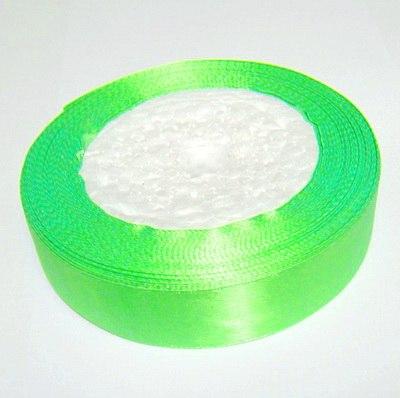 Saten verde-lime, 20 mm 1 rola 22 m