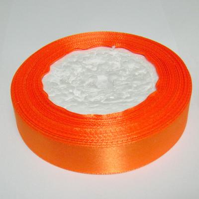Saten portocaliu, 20 mm 1 rola 22 m