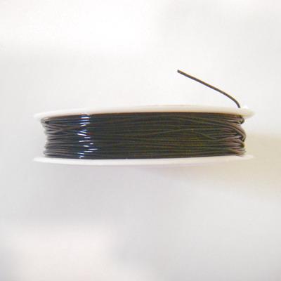 Elastic negru 0.8mm 1 rola 20 m