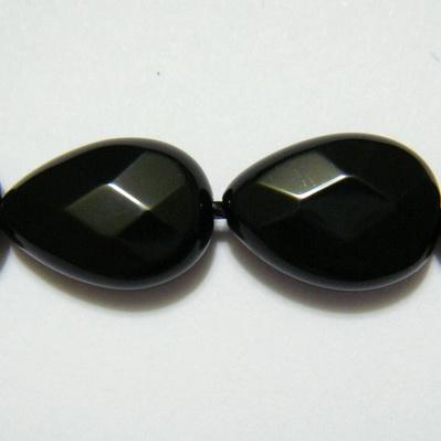 Onix plat, multifete, lacrima 15x10x5mm 1 buc