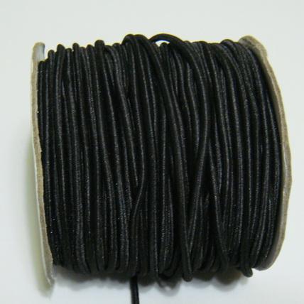 Ata elastica neagra, 2mm 1 m