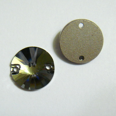 Swarovski Elements, link, 3200-Silver Night, 12mm(1 buc) 1 buc