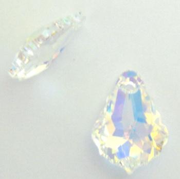 Swarovski Elements, Baroque 6090-Crystal AB, 16x11mm 1 buc