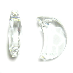 Swarovski Elements, Moon 6722 - Crystal, 18mm 1 buc