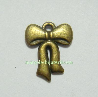 Pandantiv fundita bronz, 15X12mm 1 buc