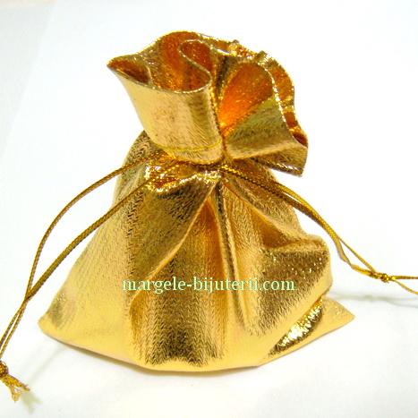 Saculeti lurex, aurii, 95x90 mm 1 buc