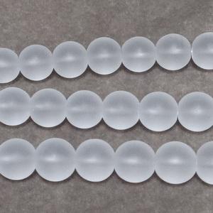 Cristal de gheata, matuit, 8mm 1 buc