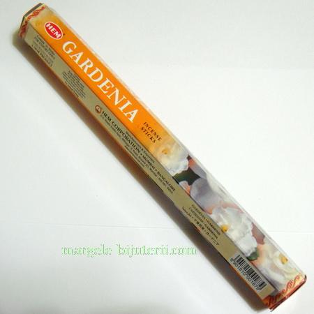 Betisoare parfumate HEM - aroma GARDENIA 1 cutie
