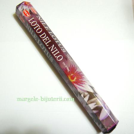 Betisoare parfumate HEM - aroma LOTO DEL NILO 1 cutie