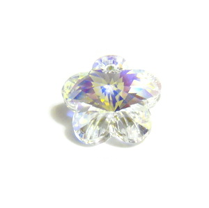 Swarovski Elements, Flower 6744-Cristal AB, 18mm 1 buc