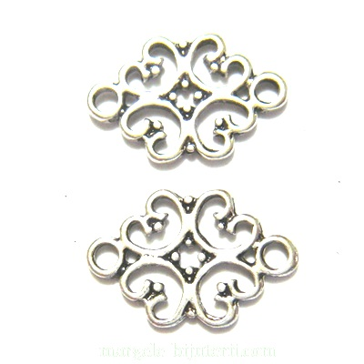 Conector/link tibetan, floare 18x13mm 1 buc
