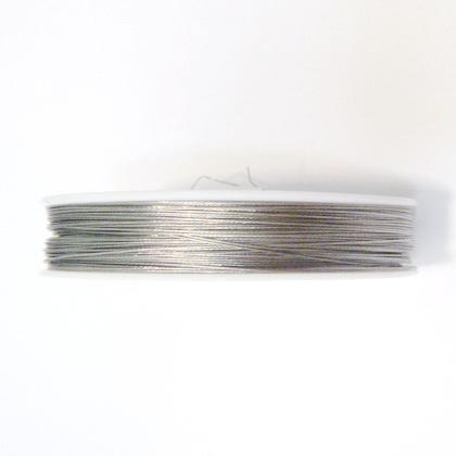 Sarma siliconata argintie 0.45mm 5 m