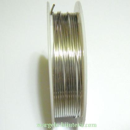 Sarma modelaj argintie, 1mm 1 rola 2.4 m
