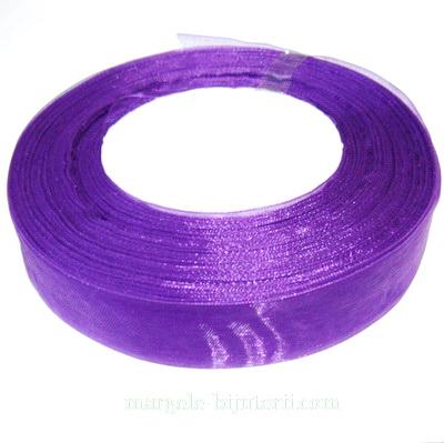 Panglica organza violet, 2 cm 1 rola 50 m
