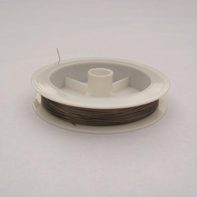 Sarma siliconata neagra 0.38 mm 5 m