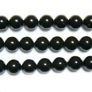 Swarovski Elements, Pearl 5810 Crystal Mystic Black 6mm 1 buc