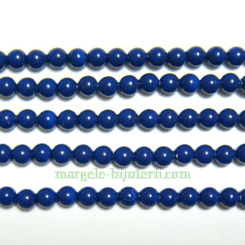 Swarovski Elements, Pearl 5810 Dark Lapis 3mm 1 buc