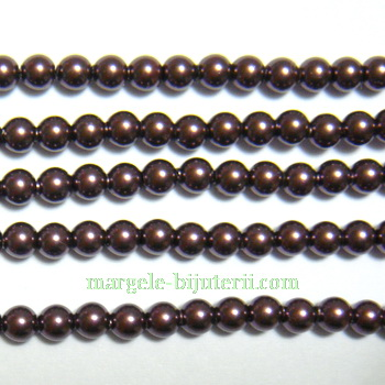 Swarovski Elements, Pearl 5810 Burgundy 3mm 1 buc