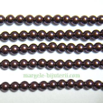 Swarovski Elements, Pearl 5810 Burgundy 3mm 1 buc
