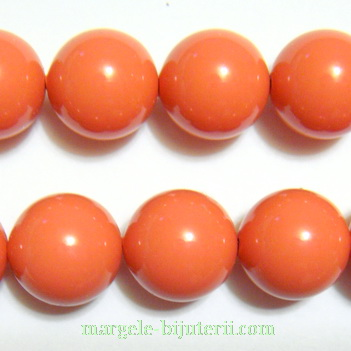 Swarovski Elements, Pearl 5810 Crystal Coral 10mm 1 buc