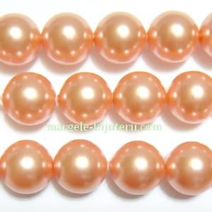 Swarovski Elements, Pearl 5810 Crystal Rose Peach 8mm 1 buc