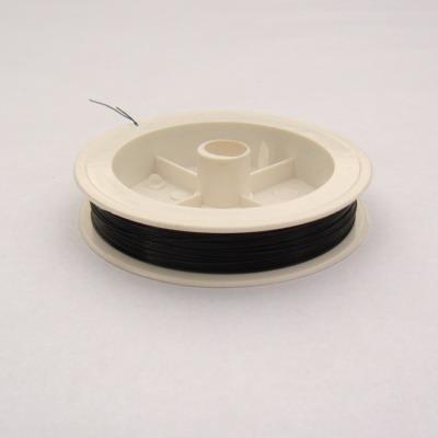 Sarma siliconata neagra 0.45 mm 5 m