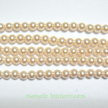 Swarovski Elements, Pearl 5810 Crystal Creamrose 3mm 1 buc