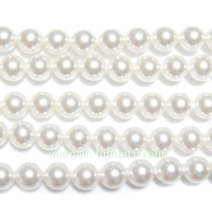 Swarovski Elements, Pearl 5810 Crystal White 4mm 1 buc