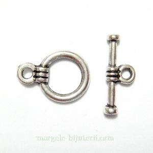 Inchizatoare tibetana, rotunda, 14x10x1.5mm 1 set