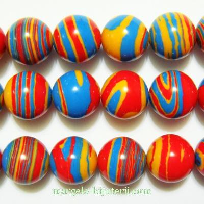 Compozit multicolor, sferic,10mm 1 buc