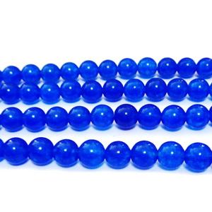 Jad albastru, translucid, 6mm 1 buc