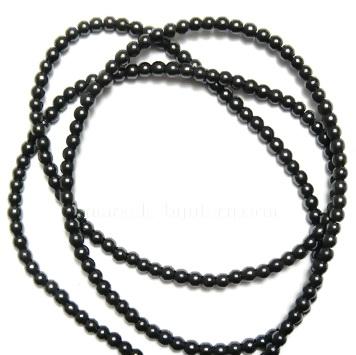 Hematite nemagnetice, 2mm - cca 100 buc 1 sirag