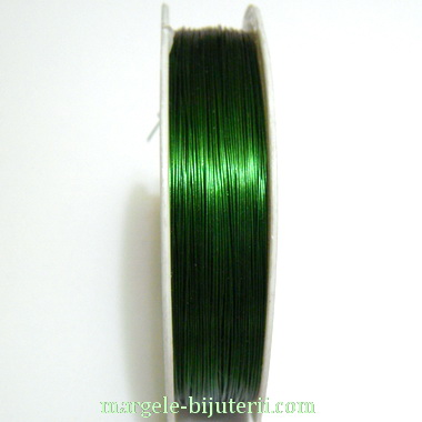 Sarma modelaj, verde, 0.3mm, rola 28 metri 1 buc