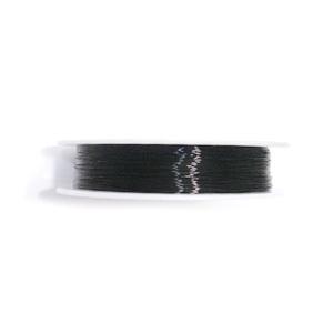 Sarma modelaj neagra 0.5 mm-rola aproximativ  9metri 1 buc
