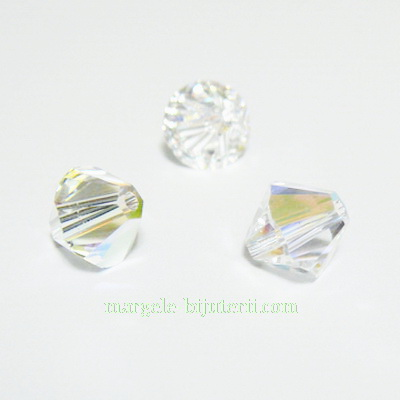 Swarovski Elements, Bicone 5328-Cristal AB, 8mm 1 buc